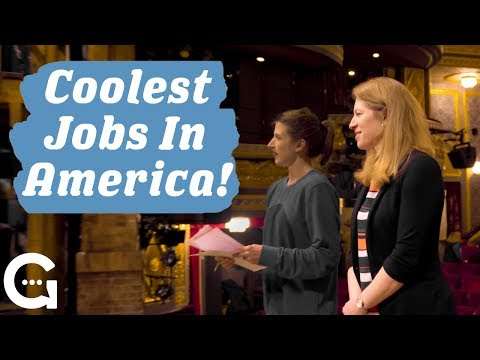 I'm A Stage Manager Of Hamilton (feat. Amber White ) - Coolest Jobs In America - Growella