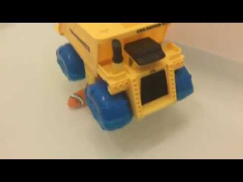 Toy Trucks - Colossus Hydro Wheels Dump Truck - Disney Cars Water Toys Mack Mater Lightning McQueen
