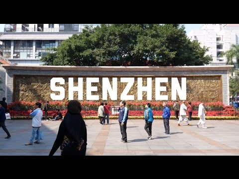 Shenzhen City! China Adventure #4 [4K]