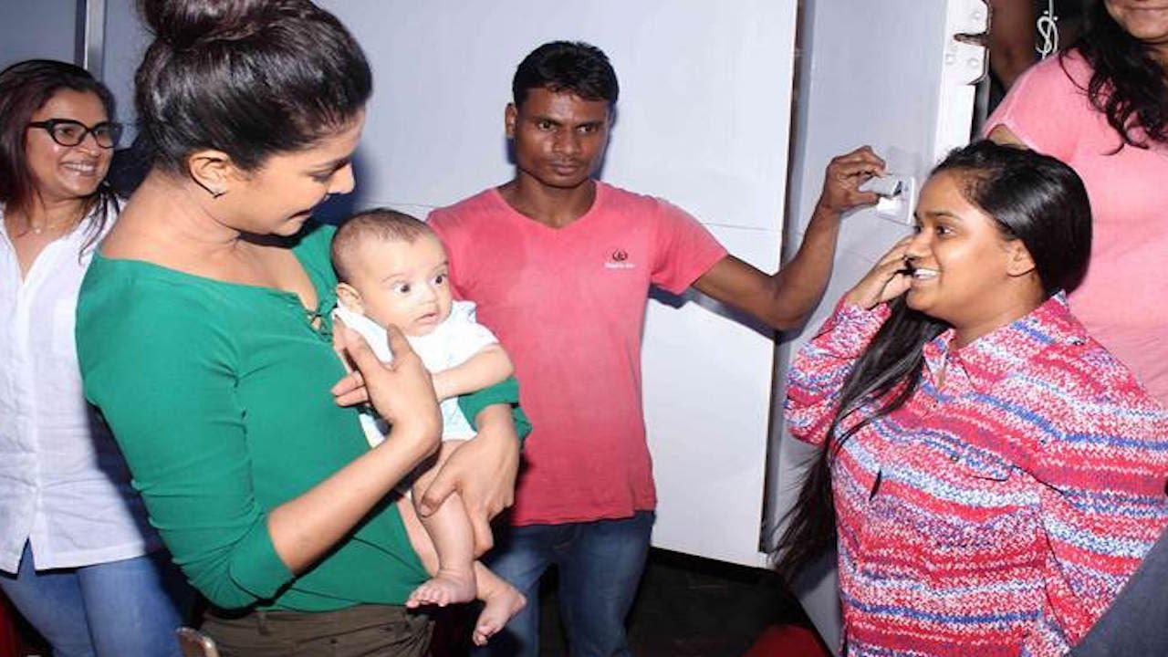 Arpita Khans Son Ahils Date With Priyanka Chopra - Youtube-6626