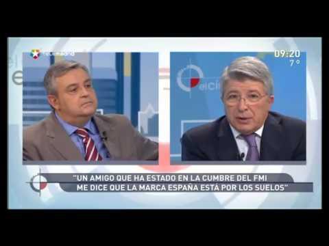 Enrique Cerezo, presidente del At.Madrid
