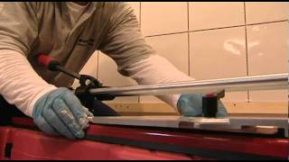 Tip Eight: How to cut tiles using the correct tile cutter