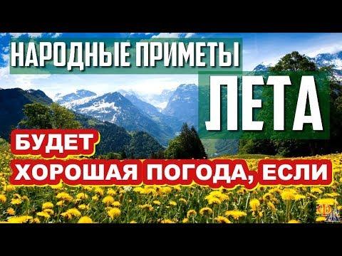Летние приметы  ХОРОШЕЙ ПОГОДЫ по растениям, птицам, рыбам и насекомым / народные ПРИМЕТЫ ЛЕТА