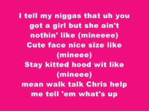 Bow Wow ft. Chris Brown-Shortie Like Mine Wit Lyrics