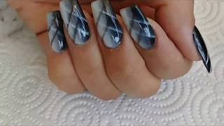 ADVANCED OMBRE / FAUX AIRBRUSH NAIL DESIGN