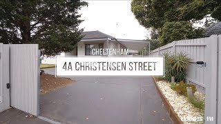 4a CHRISTENSEN STREET, CHELTENHAM – PANDELIS PLOUSI
