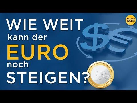 WIE WEIT kann der EURO noch STEIGEN?