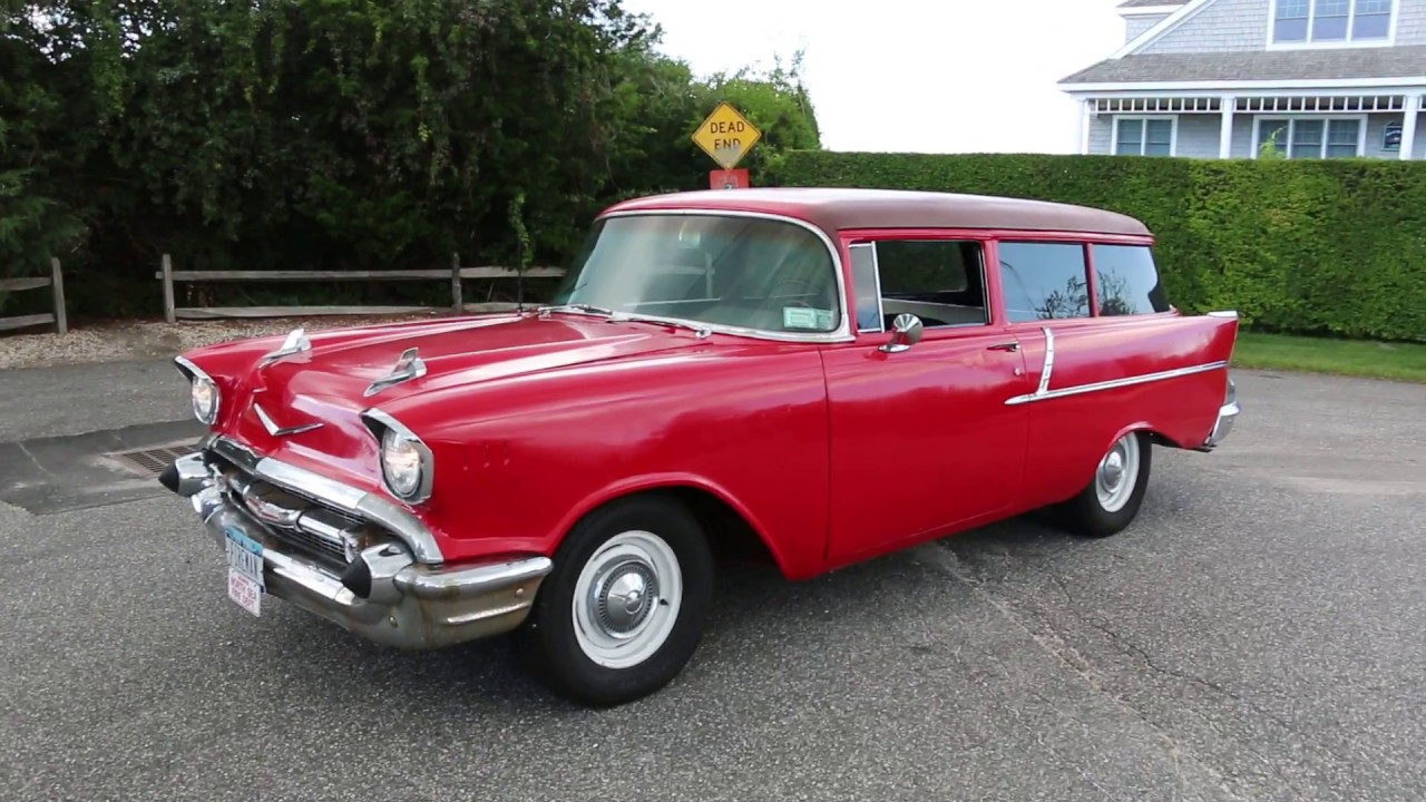 1957 Chevrolet 2 Door Handyman Station Wagon For Sale~Strong 350 ...