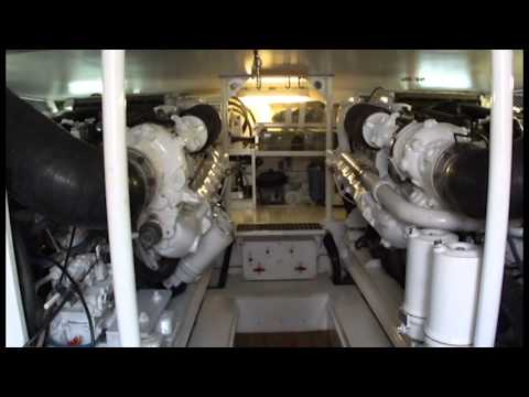 Strike Marine Salvage Sales- 2 used MAN marine engines- model D2842 LE 406 - for sale