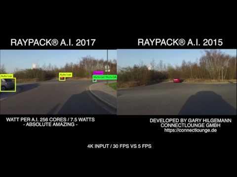 Raypack® A.I meets Nvidia Pascal GPU