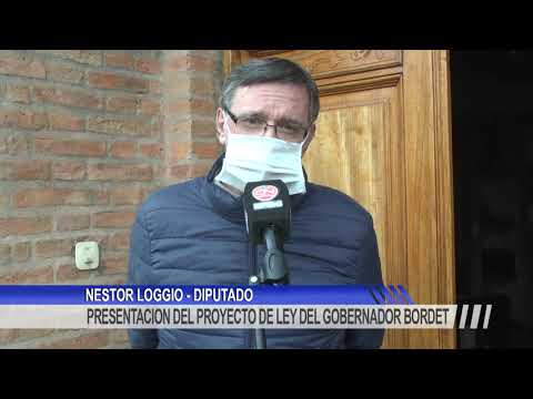 Loggio apoya el proyecto de emergencia y aclara que el aporte voluntario sólo lo harán unos 13 mil agentes