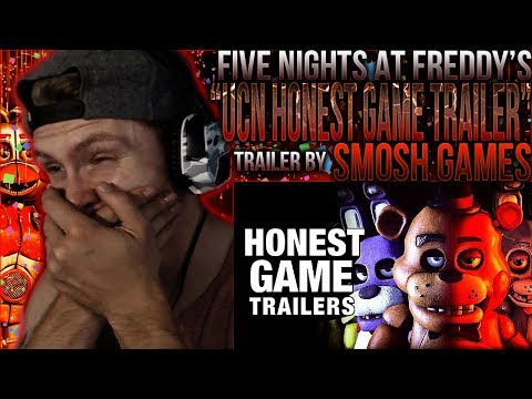Vapor Reacts #673 | FNAF ULTIMATE CUSTOM NIGHT HONEST GAME TRAILER - by Smosh Games REACTION!!