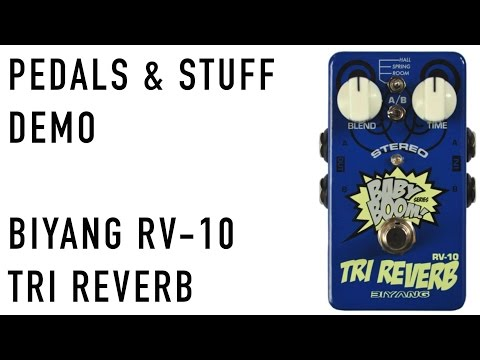 Biyang RV-10 Tri Reverb guitar pedal demo | BIYANG does it again, a great reverb pedal for the price