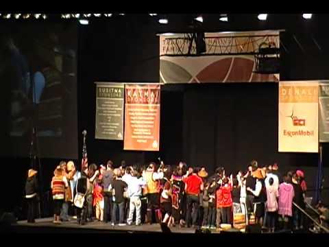 AFN 2013 Tlingit Dancers Exit Song
