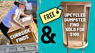 Dumpster Find Gets a New Purpose PLUS Curbside Find VLOG and Big Changes Coming
