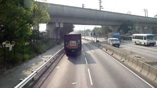 hong kong bus ride 港鐵巴士 603 k73 天恆 元朗 循環綫 全程行車影片