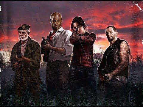 Let's Play Left 4 Dead Co-Op - Episode 5 - Blood Harvest [W/ TheEuropeanCanadian]