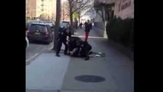 Black Highschool Student beat up by Multiple NYPD Cops ... Only Police should have Guns ???
