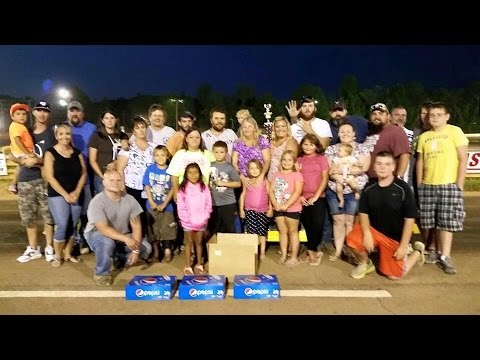 Aug 13 2015 Jeremy Coffey  Racing at Pepsi Night at Eastside Speedway in Waynesboro, VA