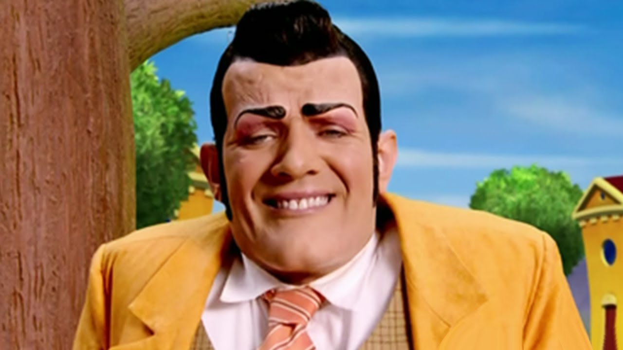 lazy town robbie rotten sings its fun to be the mayor