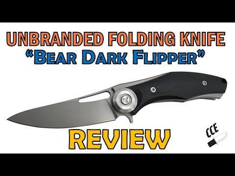 "Review of ""Bear Dark Flipper"" NOW Available at Amazon & GEARBEST.com LINKS inside."