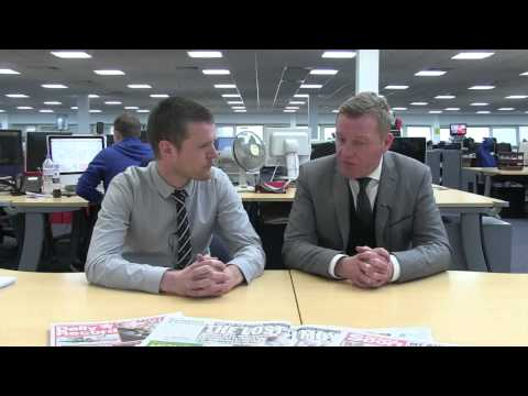 Daily record's keith jackson reaction to david moyes sacked from manchester united