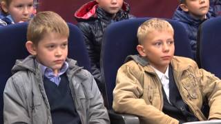 Уроки гражданской обороны для учеников школы №3 в Можайском отделении Мособлкино