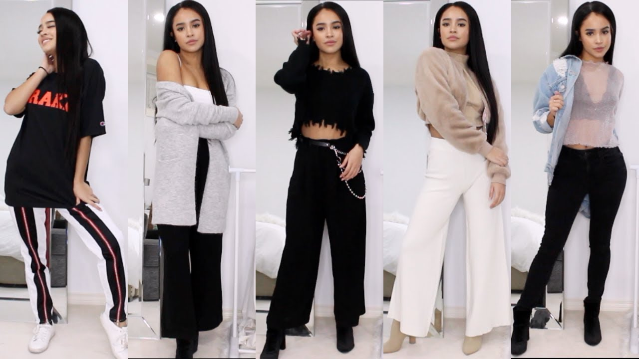 [VIDEO] - CELEB STREET STYLE FOR LESS! OUTFIT LOOKBOOK: WINTER EDITION | Maria Bethany 2