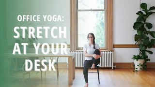 Stretch at Your Desk: Office Yoga at The Pioneer Collective | Wild in Tacoma | Yoga Wild