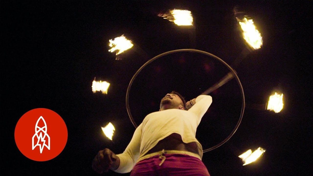 Dancing With Fire in Sri Lanka