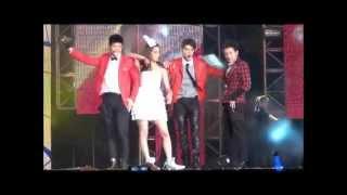 Love Now's George Hu Singing 'Super Girl' (featuring Annie Chen)