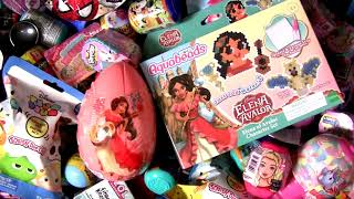 Elena Of Avalor Aquabeads egg Surprise Disney Princess toys review