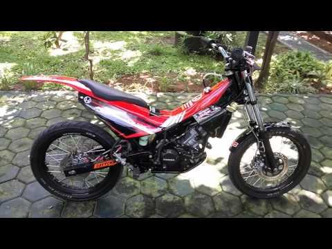 Gambar Modifikasi Motor Rx King Warna Biru Download Gambar
