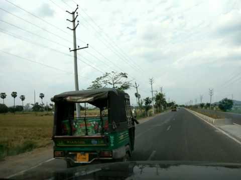 Timelapse - Pune to Tawang Day2 - Hyderabad to Visakhapatnam