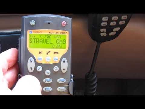 How to make a HF Radio phone call