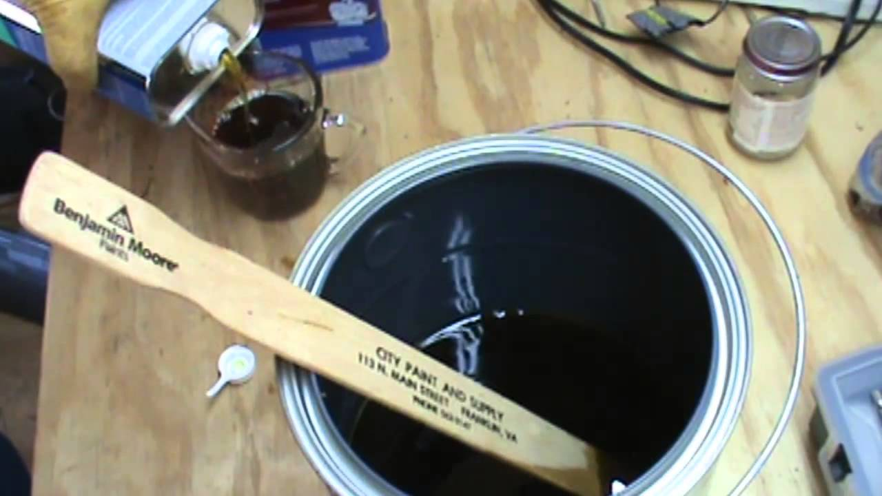 & DIY Waterproofing Compound for Canvas Tarp. aka Waxed Canvas - YouTube