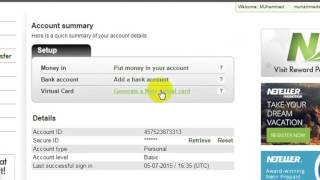 How to get visa card free