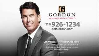 Louisiana Auto Accident Attorney | Best Advice | Get Gordon McKernan