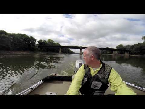 Asian Carp, Drones and the Wabash River