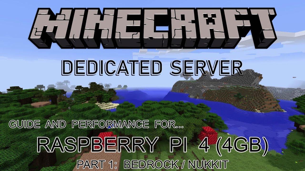 Raspberry Pi 4 - Minecraft Bedrock Dedicated Server (Part 1 - Nukkit)