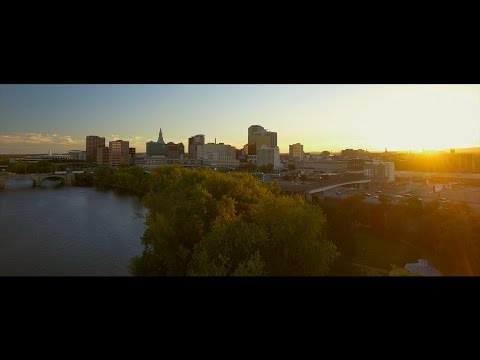 Hartford is Beautiful - Drone waterfront and Skateboarding (2nd Drone Flight)