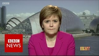 Nicola Sturgeon: PM hasn't 'honoured' promise on Scotland - BBC News