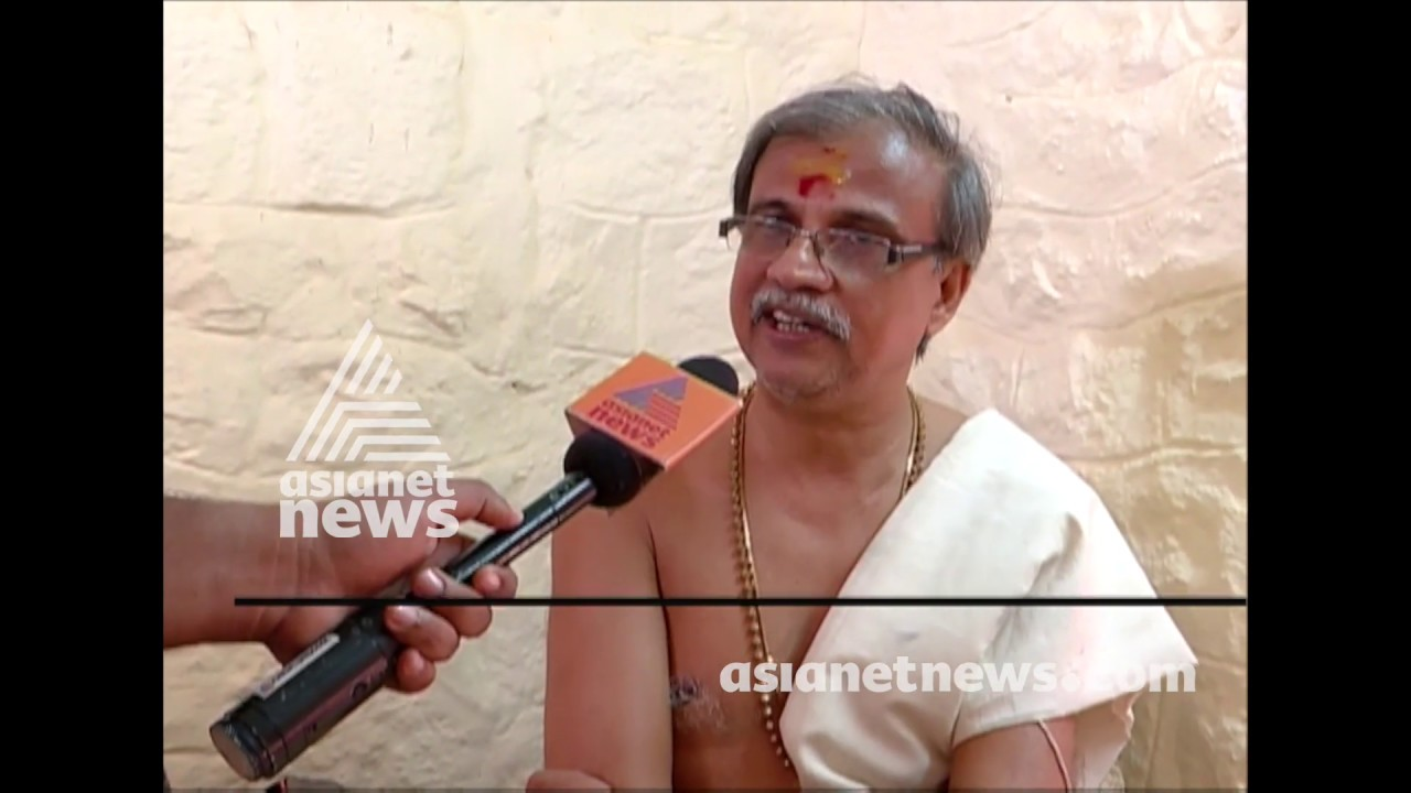 Govt insult Thantri and Pandalam palace says Narayana Varma