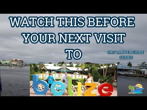 BELIZE | WATCH THIS BEFORE YOUR NEXT CRUISE | TRAVEL GUIDE