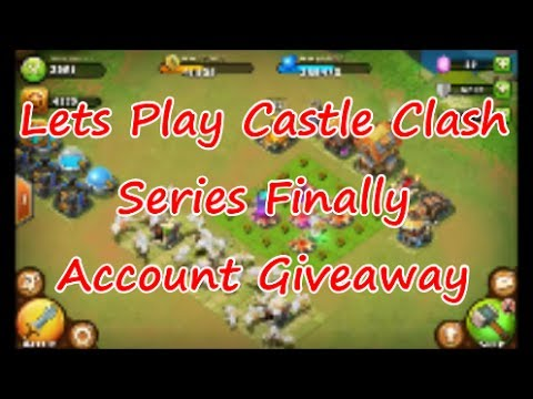 Castle clash account free giveaway