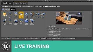 Alma AR Şablon | Canlı Eğitim | Unreal Motoru canlı yayın ile Başladı