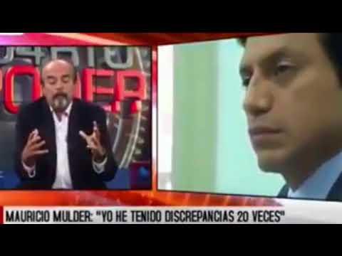 MAURICIO MULDER DESTRUYE A LA MERMELERA DE SOL CARREÑO.