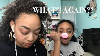 ASMR   Helping My Little Sister Relax    SHE DID IT AGAIN?? 😩🤫