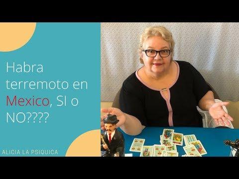 HABRA TERREMOTO EN MEXICO EN OCTUBRE, SI O NO????