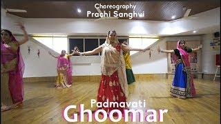 Ghoomar | Padmavati | Choreography and Dance by Prachi Sanghvi | Bollywood